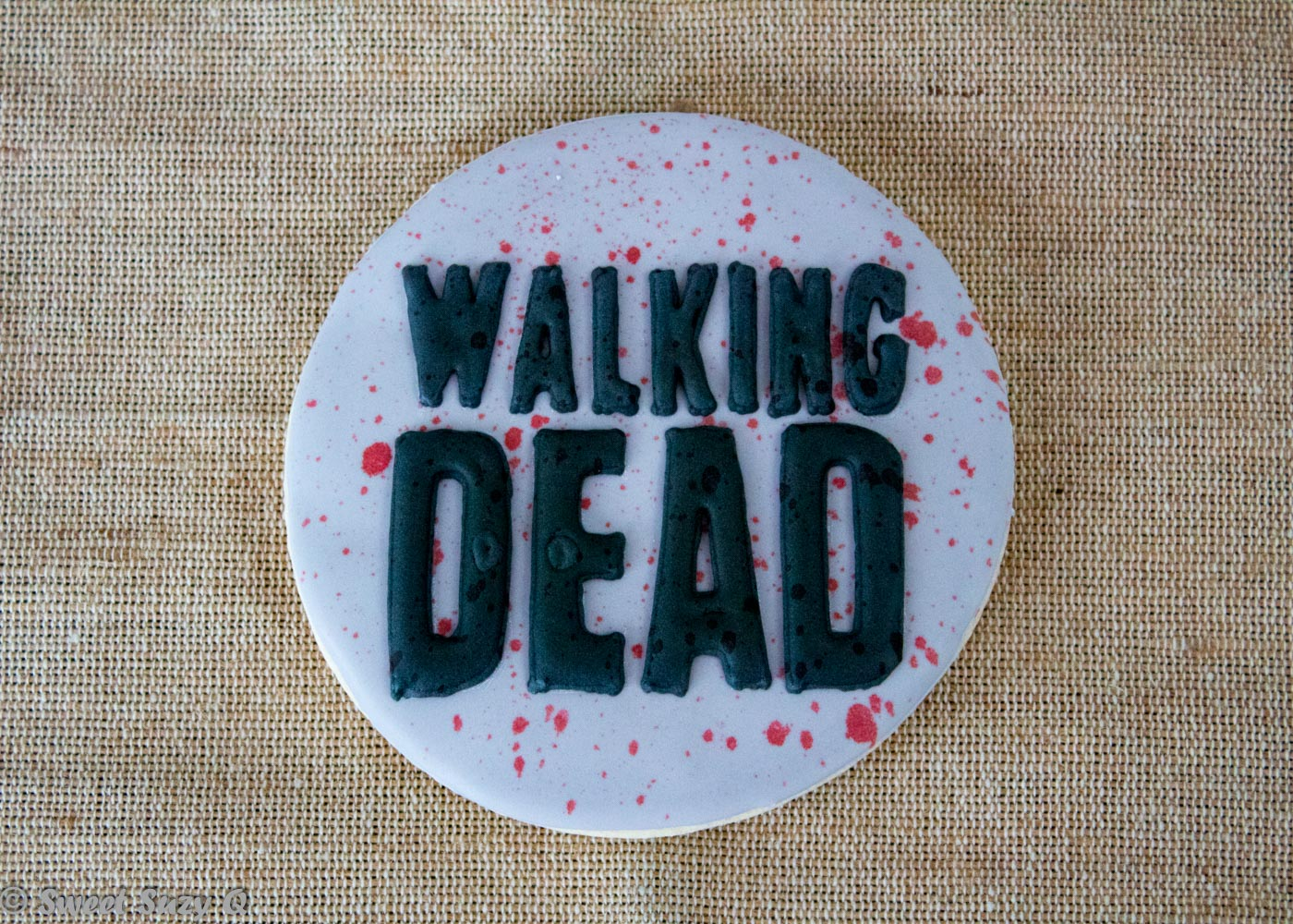 Walking Dead title cookie