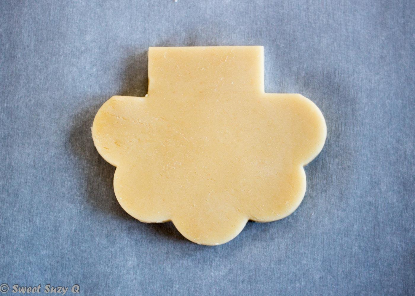 Leprechaun cookie cut 2
